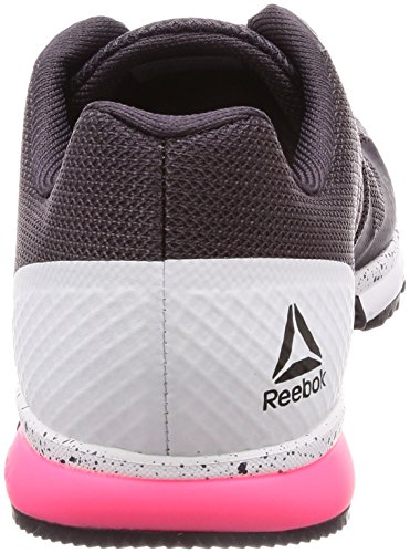 Reebok Crossfit Speed ​​tr 2.0, Scarpe De Fitness Donna Rosso (smoky Volcano / Blanc / Rose Acide)