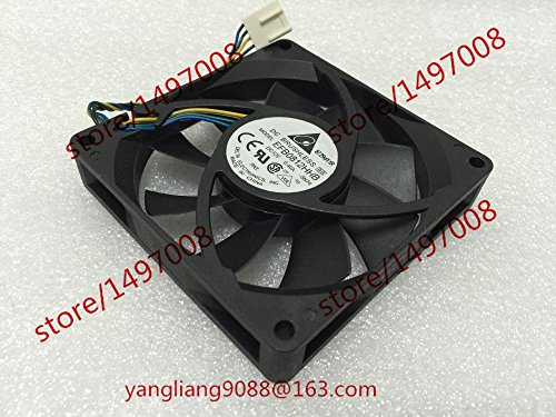 KTC Computer Technology Free Shipping For DELTA EFB0812HHB, -5N74 DC 12V 0.40A, 4-wire 4-pin 120mm 80x80x15mm Server Square cooling fan