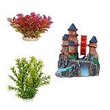 Jainsons Aquarium Decoration Combo Items