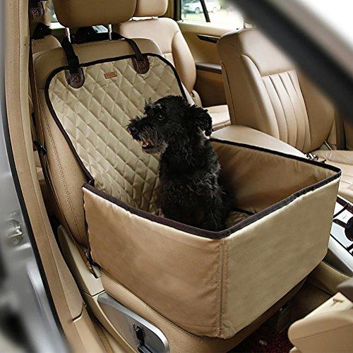 D&fa d&f-coprisedili anteriori per animali domestici, proteggi sedile anteriore impermeabile, proteggono il sedile da sporcizia per tutte le auto, camion, suv e furgoni, yellow