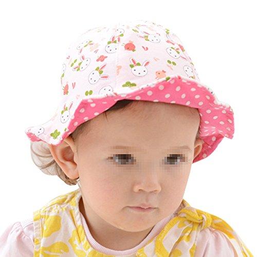 Unisex Baby Mädchen Jungen Fischerhut Fischermütze Schlapphut Eimer Hüte Cotton Hut (Eimer Hüte Für Kinder)