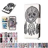 LA-Otter Coque Apple iPhone 5 5S Se Campanula Dreamcatcher Squelette Flip Case Housse...