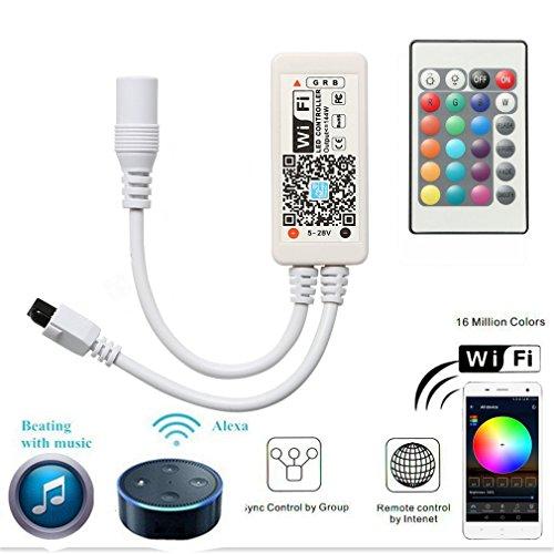 Fügen Sie Hinzu Konto Ein (Mini RGB Led Streifen Kontroller mit Alexa,Wifi/App gesteuert,Fernbedienung Arbeiten Controller mit Android und IOS System 5V-28V Für alle 3528 5050 2835 led strip)