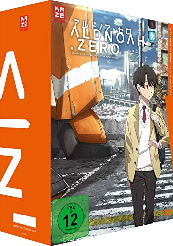 Aldnoah.Zero - 1. Staffel - Gesamtausgabe - DVD Box