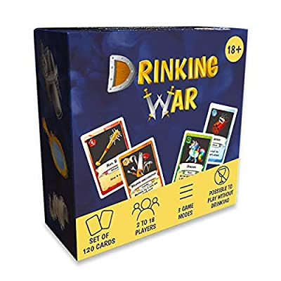 Drinking Game Drinking War (English Version) : The Strategic Game for Parties Among Friends