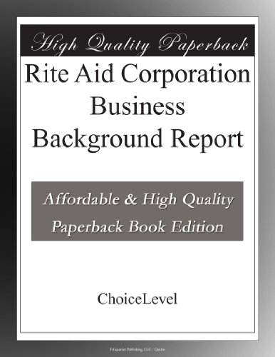 rite-aid-corporation-business-background-report
