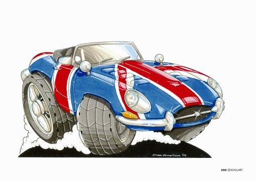 in Powers Jaguar # 2060 (Austin Powers Zubehör)