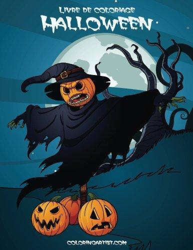 Livre de coloriage Halloween 2 (Halloween Coloriage Horreur)