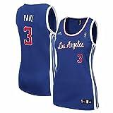 adidas Chris Paul Los Angeles Clippers NBA Azul réplica de la Camiseta de la Mujer, S, Azul
