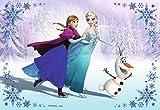 Anna,Elsa,Olaf Torten Druck Bild auf A4