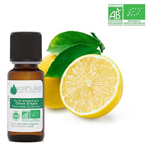 Huile Essentielle BIO de Citron