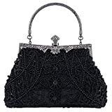 Bagood 134/5000 Damen Vintage Clutches Geldbörsen Abendtaschen Handtasche Schultertasche Seed...