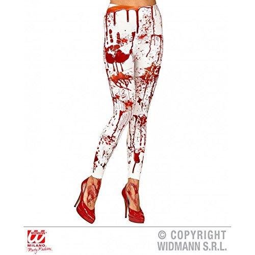 Blutige Leggins / Halloween / Horror Hose / Pants Gr. L - XL Halloweenleggins / Kostümzubehör Halloweenkostüm
