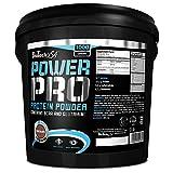 Biotech USA Protein Power - Proteína en polvo, sabor fresa y plátano - 1000 gr