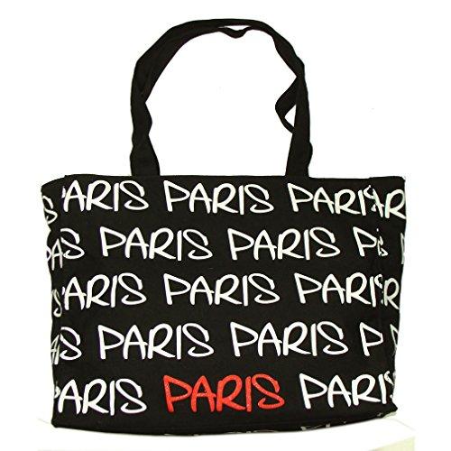 Sac Shopping Paris Robin Ruth - Noir