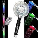 LED Dusche Colorful Wasserhahn 7Farbe Schrittweise Änderungen für Küche und bathroms 2Wasser Modus