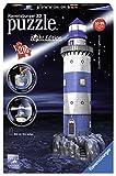 Leuchtturm bei Nacht: Erleben Sie Puzzeln in der 3. Dimension
