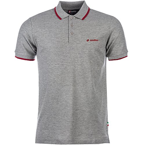 lotto-mens-polo-shirt-t-shirt-top-retro-vintage-golf-classic-branded-fashion-x-large-grey