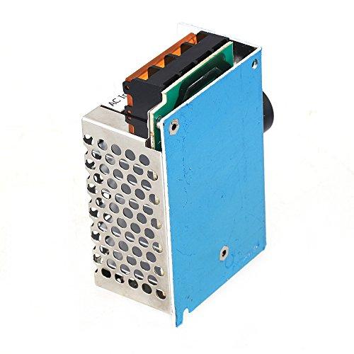 Preisvergleich Produktbild BQLZR 4000W 220V Spannungsregler SCR Motor Drehzahlregelung Thermostat Dimmer