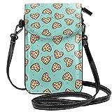 Kleine Handtasche für Handy, Umhängetasche, Pizza Herz, Valentinstag, Liebe, Pizza, Slips, Foodie...