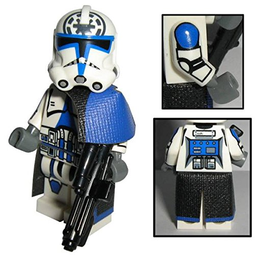 Custom Brick Design 501st Legion Clone Trooper Jesse Figur - Customized by CBD (Jesse Figur)