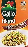 Gallo - Blond, Integrale Chicchi Corposi e Ricchi di Gusto - 3 confezioni da 1 kg [3 kg]