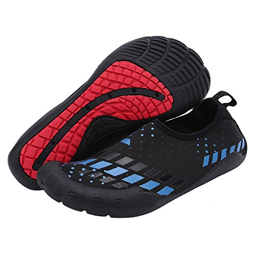 NONMON Mens Womens Wasser Schuhe Barfuß Haut Schuhe für Dive Surf Swim Beach Yoga 44
