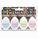 Oh Baby! Memento Dew Drop Dye Inkpads 4/Pkg MD-100-14