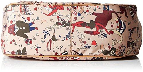 piero guidi Messenger, Borsa a Tracolla Donna, 32 x 28 x 12 cm (W x H x L) Beige