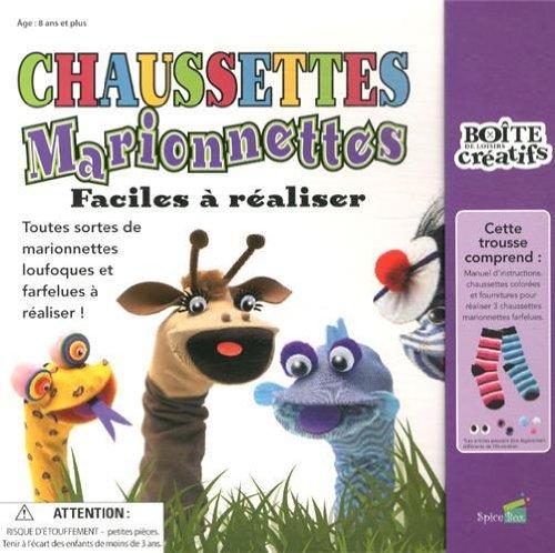 Chaussettes marionnettes faciles à réaliser