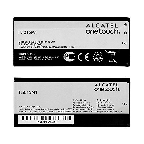 GENUINE ALCATEL® TLI015M1 BATTERY FOR ONE TOUCH PIXI 4 4 0 / 4034/ 4034D  1500mAh