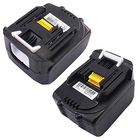 2 X Werkzeug Akku für Makita BL1440 BL1430 BL1415 14.4V