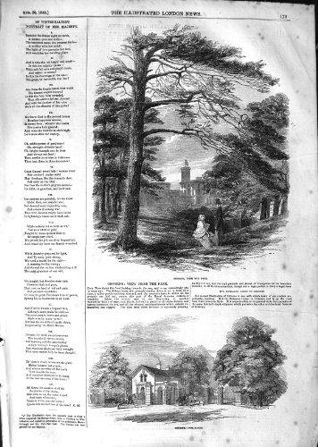 1852 LODGE ARCHITEKTUR OSBORNE MANSION HOUSE - Victorian Lodge