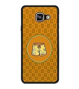 PrintVisa Designer Back Case Cover for Samsung Galaxy J7 (6) 2016 :: Samsung Galaxy J7 2016 Duos :: Samsung Galaxy J7 2016 J710F J710Fn J710M J710H (Lady Square Circle Floral Skirt Oneforth)
