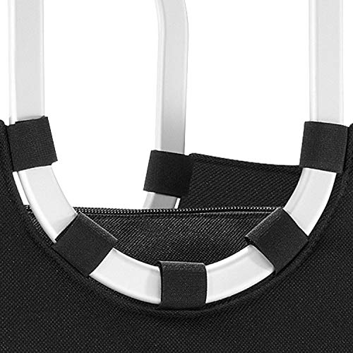 reisenthel loopshopper M black Maße: 40 x 26 x 20 cm / Volumen: 12 l