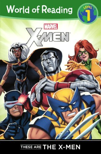 These Are The X-Men (Turtleback School & Library Binding Edition) (World of Reading Marvel) by Thomas Macri (2013-11-12)