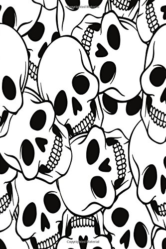 Color My Cover Halloween Journal - Smiley Skulls: 100 page 6
