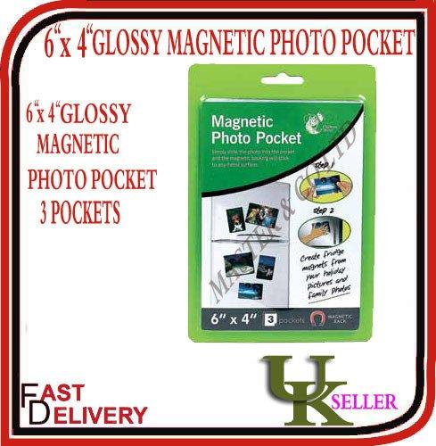 Chiltern Wove 151, Bolsillo Fotos magnético, 6
