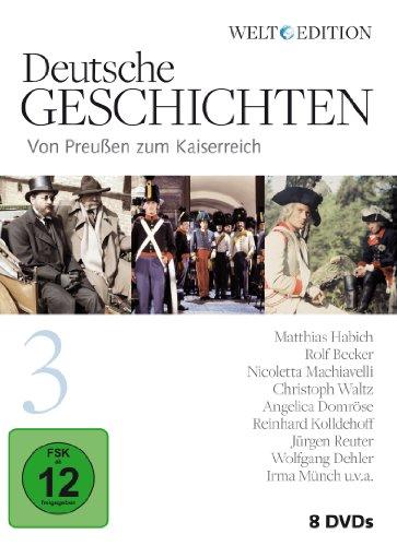 Deutsche Geschichten 3: Von Preußen zum Kaiserreich (8 DVDs)