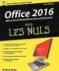 Office 2016 pour les Nuls grand format