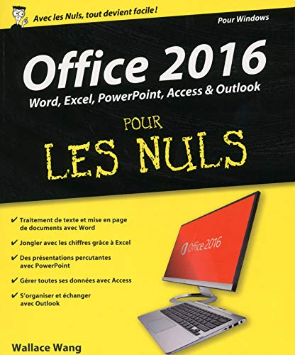 Office 2016 pour les Nuls grand format par Wallace WANG