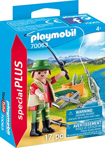 Playmobil 70063 Special Plus Angler, bunt -