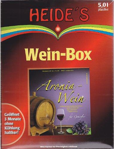 Aronia-Wein 9,5% Alc., 5 Liter