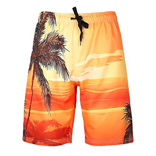 Quiksilver Surf Da Uomo Stretch Pantaloncini Costume Bagno Taglia Attractive Appearance Abbigliamento E Accessori