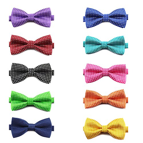 GOGO Pet Bow Tie Collar, Dog Gro...