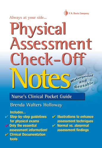 Physical Assessment Check-off Notes 1e (Nurse's Clinical Pocket Guides)