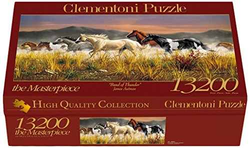 Clementoni- Band of Thunder High Quality Collection Puzzle, 13200 pezzi, 38006