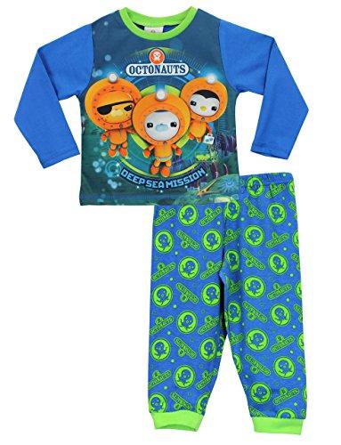 Octonauts Jungen Die Oktonauten Schlafanzug 110 (Team-pyjama-hose-muster)