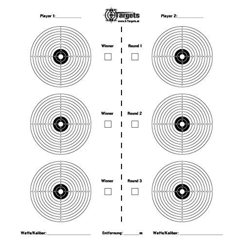 Tiro X de Battle/45x 45cm/Papel 120g/m²