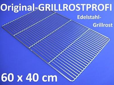 Edelstahl-Grillrost 60 x 40 cm